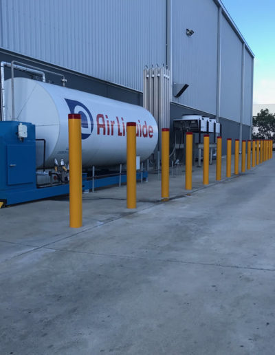 industrial bollards by Bollards Direct